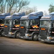 Barnes Logistics Vehicles